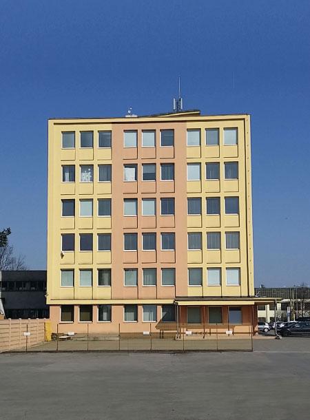 Administratívna budova v Košiciach